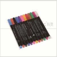 Colorful Non-Toxic Fabric Paints And Pens For Creating On Shoes / Hats / T Shirts With 2.0mm Fiber Tip #FM20 Manufactures