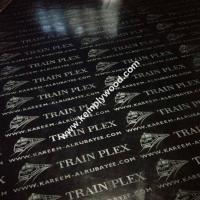 Black film faced plywood with logo, black faced shuttering plywood, black film faced marine plywood Manufactures