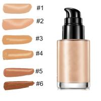 Makeup Contouring Makeup Products , Skin Bleaching Cream Liquid Foundation Manufactures