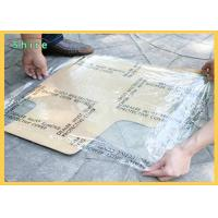 3Mil 4 Mil Adhesive Auto Carpet Protection Film Printable Auto Carpet Film Manufactures