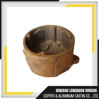 Quality Brass / Copper / Bronze Sand Casting Parts For Pipe Fitting ISO 9001 Certified for sale