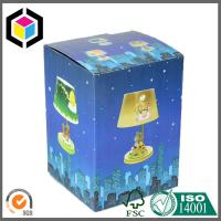 CMYK Litho Print Matte Lamination Corrugated Cardboard Paper Packaging Box Inside White Manufactures
