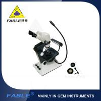 Parallel light desin Generation 6th Swing arm type Gem Microscope F05 binocular lens Manufactures