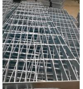 Galvanized Platform welded steel grating Manufactures