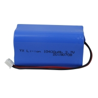 1000 Cycle UN38.3 10400mAh 3.7V Lion Battery Pack Manufactures