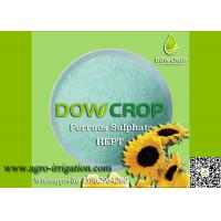 DOWCROP HIGH QUALITY 100% WATER SOLUBLE HEPT SULPHATE FERROUS 19.7% GREEN CRYSTAL MICRO NUTRIENTS FERTILIZER Manufactures