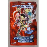 Red Printed Metalized Foil 3 Side Seal Bag for Toy , Gift , Cards , Present Manufactures