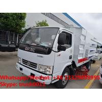 Buy cheap 2018s YEAR-END PROMOTION! Dongfeng mini 95hp diesel Euro 3 road cleaning vehicle from wholesalers