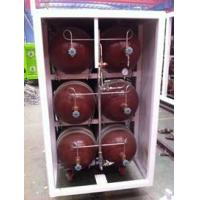 China 50L - 200L Type 2 Glass Fiber CNG Storage Tanks For Compressed Natural Gas Stations on sale