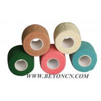 Cohesive Flexible Bandage 100% Cotton Hand Tearable High Tensile Latex-free available Manufactures