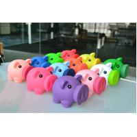 12cm Length Colorfull Piggy Bank Money Box With Mouth Open , Cute Piggy Banks For Adults Manufactures