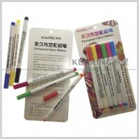 Regular nib Fabric paints water based 20 colors permanent textile marker pens Manufactures