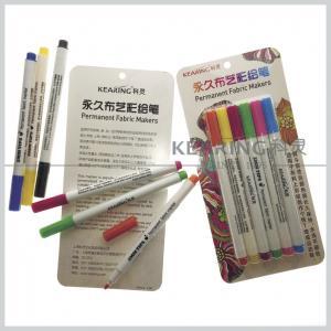 Regular nib Fabric paints water based 20 colors permanent textile marker pens Manufactures