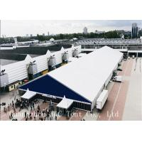 Luxury Rust Proof Wedding Party Tent Easy Maintenance With White PVC Coat Fabric Manufactures