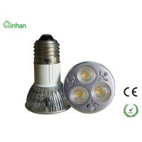 Warm white 240 LM 3W E27 50000 hours 30 / 60 degree LED spotlight fixture Manufactures