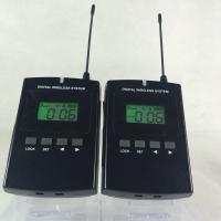 Quality Wireless Headset Microphone System , 008C Long Distance Museum Audio Guide for sale