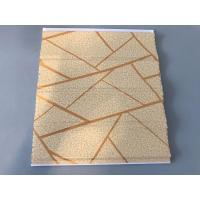 Quality Easy Maintenance Laminated Pvc Wall Panels For Drawing Room 25cm*7mm for sale