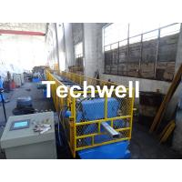 0.4-0.8mm Downspout Machine for Making Steel Rectangular Downpipe with Saw Cutting Manufactures