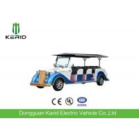 China Battery Operated Vintage Electric Car , 8 Seater Electric Passenger Vehicle With Sunshade on sale