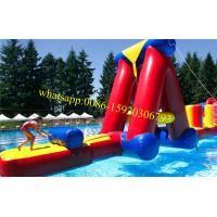 inflatable obstacle course for sale , floating obstacle course , obstacle course equipment for adults , obstacle Manufactures