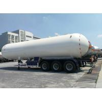 Propane Lpg Road Tanker Durable Spherical Heads And Cylindrical Shell Manufactures