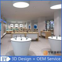 Quality mobile phone shop decoration showcase cell phone store design for sale