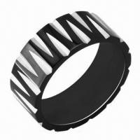 Stainless Steel Rings, Customized Designs and Logos Accepted Manufactures
