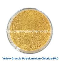 Roller Yellow Polyaluminium Chloride Powder flocculant polymer pac 30% For Waste Water Treatment Manufactures