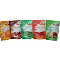 Zipper Stand Up Resealable Pouches For Fruit Chips And Cooked Food Manufactures