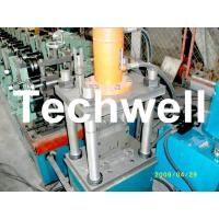 HRC, CRC, GI, 1.5 - 3.0mm Thickness U Profile / Section Roll Forming Machine TW-U100 Manufactures