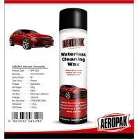 Glossy Finish Car Interior Cleaning Products Spray Wax For Cockpit / Dashboard Manufactures