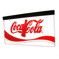 Hanging style 8mm acrylic engraved led edge lit sign Manufactures