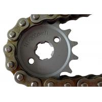 Suzuki Motorcycle Sprockets And Chains 1045 1023 Steel Material , Not Easily Broken Manufactures