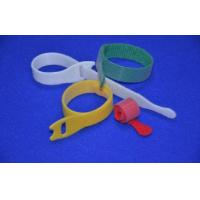 Multi - Color Wire Hook And Loop Closure , Hook And Loop Cable Ties Manufactures