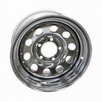 Steel trailer wheel rims, 12-16 inch, color white/silver/galvanizing Manufactures