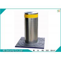 Security Automatic Bollard Systems Hydraulic Reflective Semi Auto Traffic Barriers Manufactures