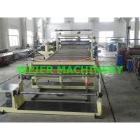 Quality 2000mm Width Plastic Sheet Extrusion Line , PVC Sheet Extrusion Line for sale