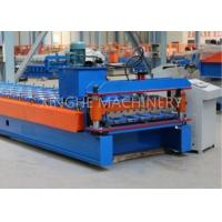 Metal Roofing Sheet Bending Machine , Automatic Roof Panel Roll Forming Machine Manufactures