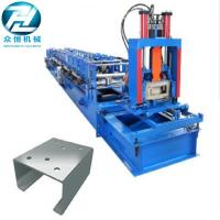 Automatic Cutting C Channel Roll Forming Machine With Non Change Shearing Device Manufactures