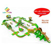 China Big Size Inflatable Aqua Park / Giant Inflatable Water Games Park For Competition / Amusement on sale