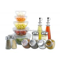 16 pieces mixing Large Glass Salad Bowls with lid 160ml 240ml 480ml 0.6l 1.2l Manufactures