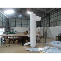 Fireproof PVC Custom Advertising Inflatable Products , Backyard Number / Sign Manufactures