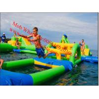 Quality PVC Tarpaulin Lake Inflatable Water Park for Adults Inflatable Aqua Park Games for sale