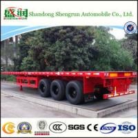 Shengrun 3 Axles 40 Feet Flatbed Truck Trailer Made in China Manufactures