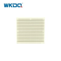9804-300 Electrical Cabinet Air Filter Grille Louvers Blower Exhaust , Electrical Panel Fan Filters Shutters Cover Manufactures