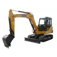 2017 New XCMG 5.5t Mini Crawler Machine Excavator XE55D with Good Performance Manufactures