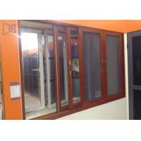 Quality Heat Insulation Aluminium Sliding Windows Soundproof With Safety Flyscreen for sale