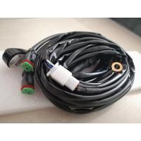 LED Light Bar Light Bar Wiring Harness Fuse With 40A 5 Pin On / Off Rocker Switch Manufactures