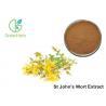 Brown Yellow Powder HPLC UV 3% Hypericin St John's Wort Extract powder Manufactures