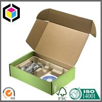 Tab Lock Tuck Top Cardboard Mailing Boxes; Colored Corrugated Shipping Box Manufactures